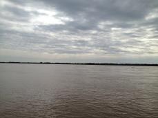 Río Parana, Terriotrio de recolección de agua