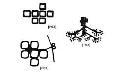 ESPACIOS POROSOS [P00] Sistema espacial principal heterogéneo, con formas animales, metafórico, espacial y membranoso. ESPACIOS FIBRIFORMES [F00] Sistemas infraestructurales homogéneos, con formas vegetales, de tipo informal y lineal. [P02] Plan Marunouchi, 1960 [P03] Plan Isogo, 1962 [F02] Plan de desarrollo turístico de Odakyu Okutateshina, 1965.