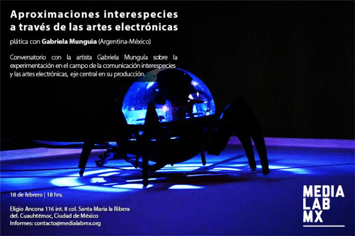 Charla en el Medialabmx, 2015.